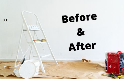 before and after pillar post